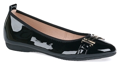 Alicia - Patent leather Black