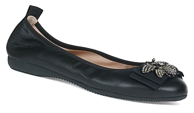 La Ballerina Debora - Nappa leather Black (529SAI)