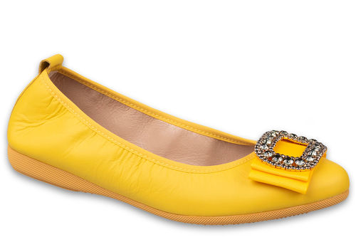 Valerie - Nappa leather Yellow