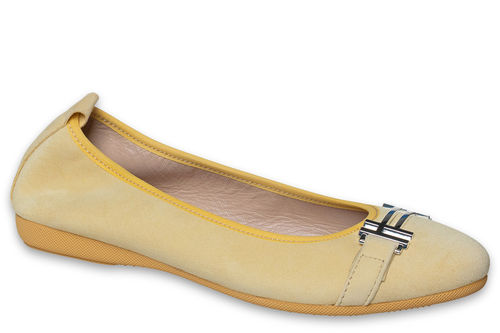 Alicia - Suede Yellow